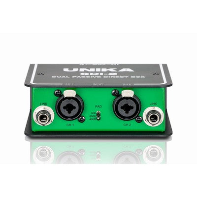Unika Dual Channel Passive DI Box