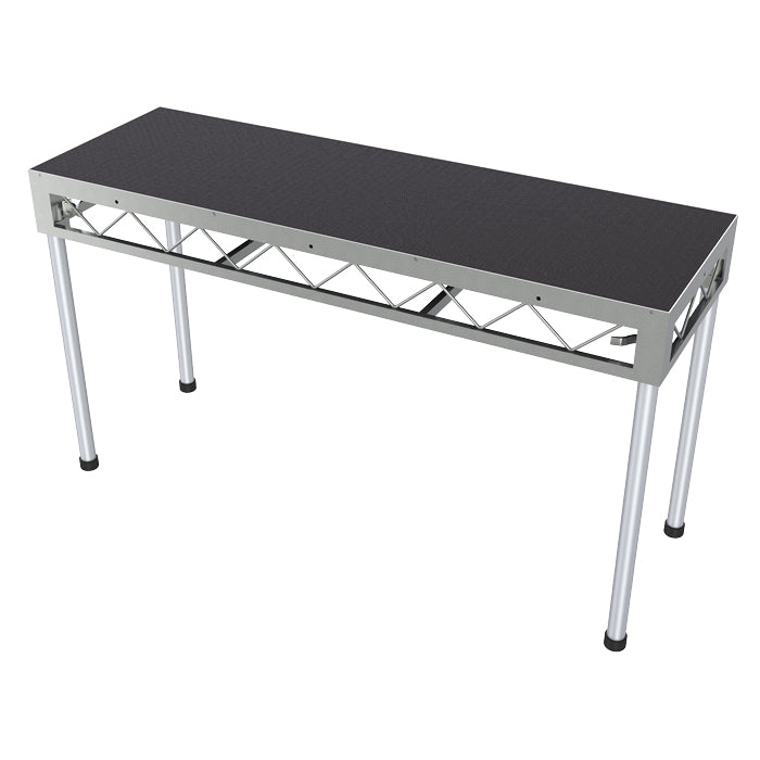 Global Truss 1.8m x 0.6m Stage Platform with 0.9m Legs - Non-Slip Top