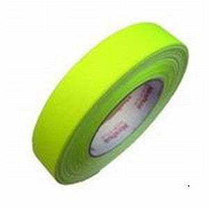 Stylus Gaffer Tape Neon YELLOW 24mm x 45m