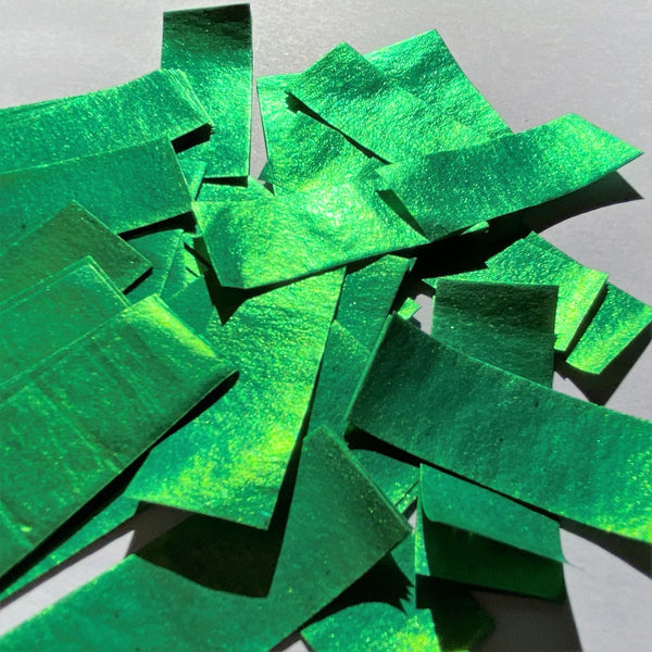 Confetti Green 1KG Bag