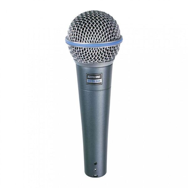Shure BETA58A Vocal SuperCardioid Dynamic Microphone
