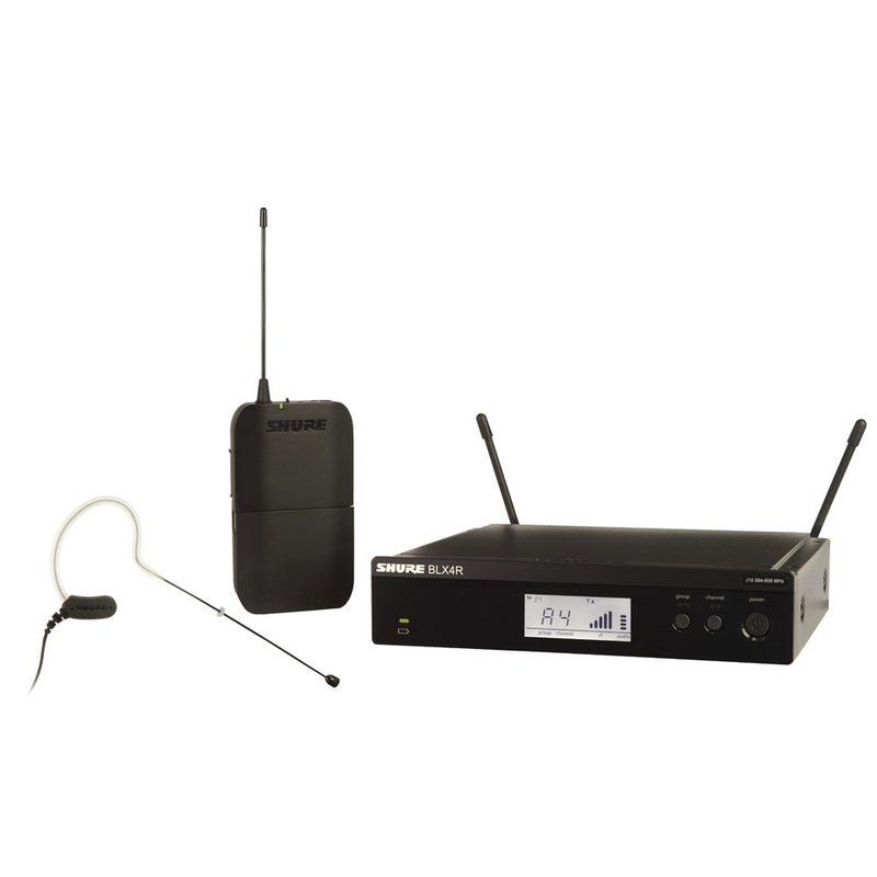 Shure BLX14R/MX53 Wireless 1/2R Headworn System (K14: 614-638MHz)