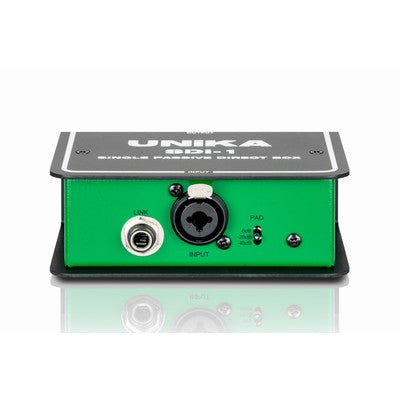 Unika Single Channel Passive DI Box