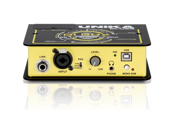UNIKA USB to Audio DI Box