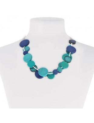 Blue Mix Necklace