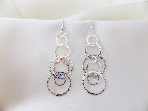Cascading Circles Earrings