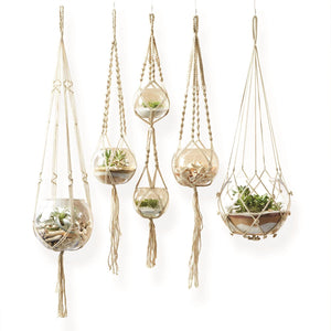Hand-Crafted Macrame Plant Hanger