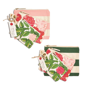 Rosy Outlook Multipurpose Pouches