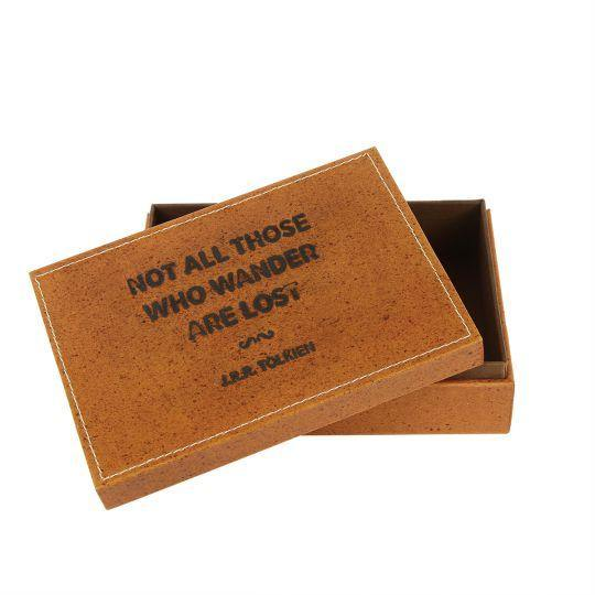 Quotable Leather Box