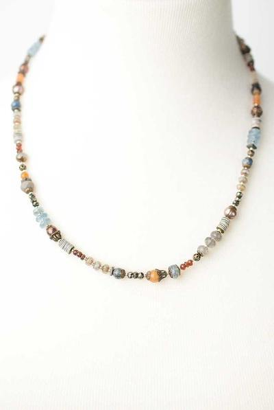 Gemstone Layer Necklace