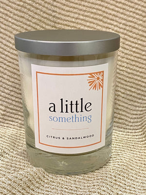 Citrus & Sandalwood Candle by A Little Something