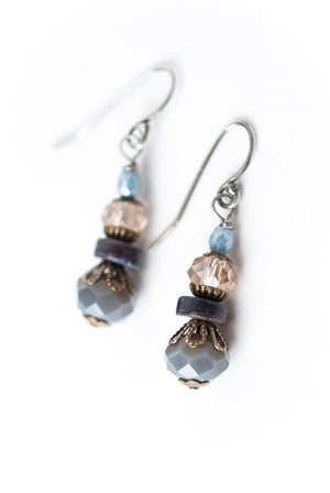 Czech Glass Dangle Earrings - ALittleSomething