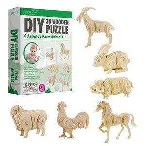 Birds, Dinosaurs, Farm Animals, &  Wild Animals DIY Kits