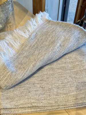 Luxurious Cashmere Throw - ALittleSomething