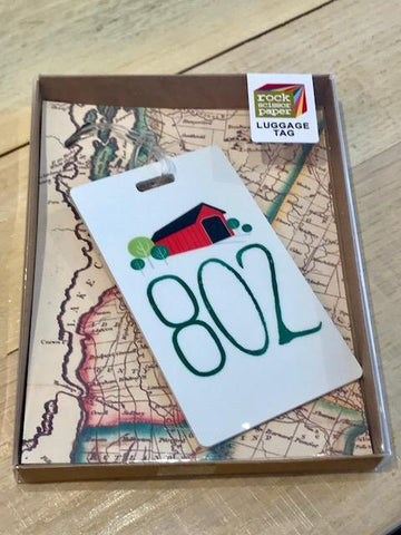 The 802 Luggage Tag