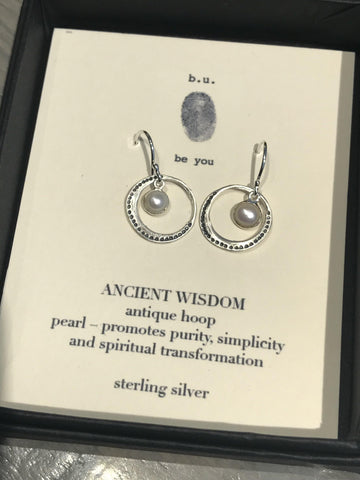 Ancient Wisdom Earrings