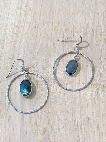 Center of the Earth Earrings