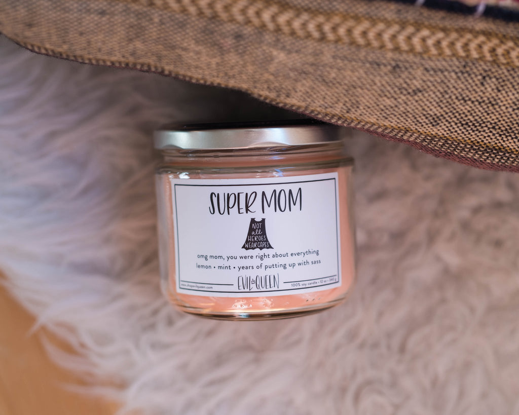 Supermom Candle