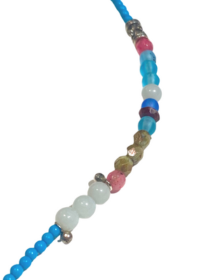 Fan Focal Turquoise Necklace