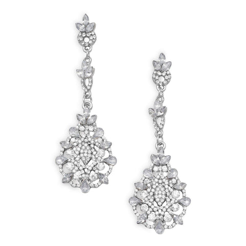 Crystal Baroque Drop Earrings