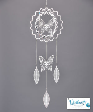 3-D Butterfly Windchime