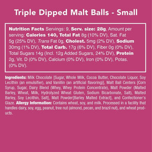 Triple-Dipped Malt Balls