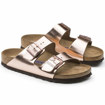 Birkenstock Arizona Regular (Natural Leather + Soft Footbed)