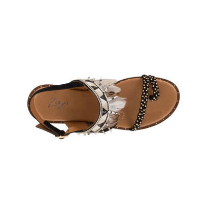 Florsheim Roka Feather Toe Sandal