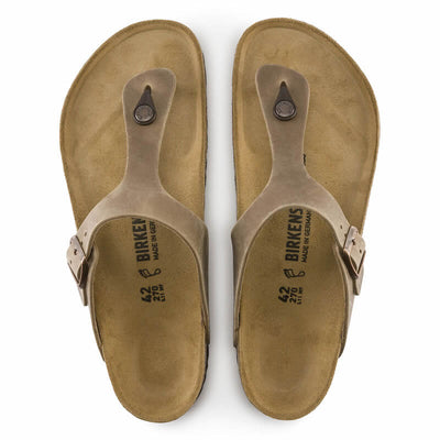 Birkenstock Gizeh Regular (Natural Oiled Upper)