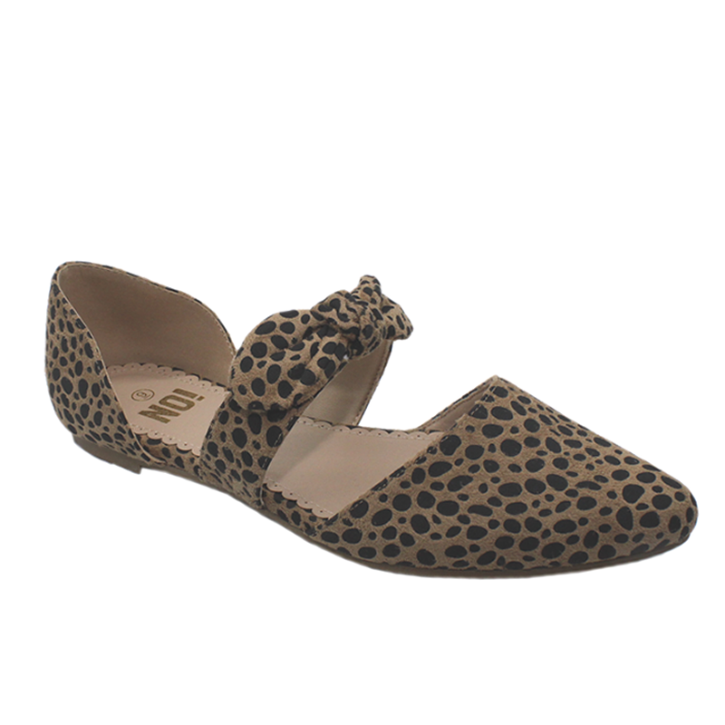 No Shoes Animal Leopard Casual
