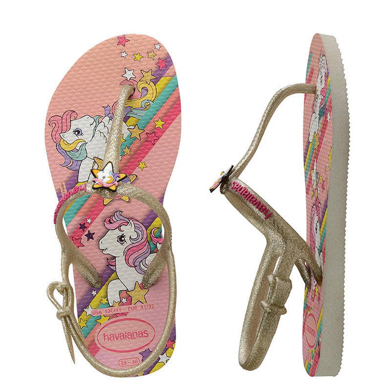 Havaianas Kids Slim Freedom My Little Pony Thong