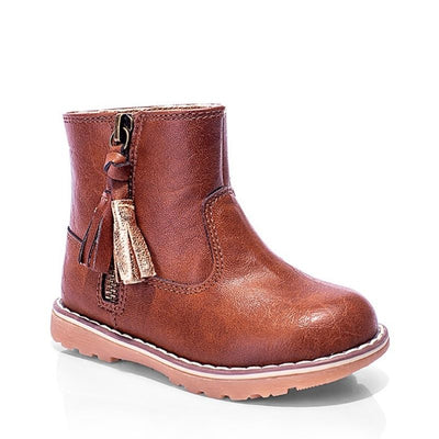 Grosby Penny Tassle Kids Boot