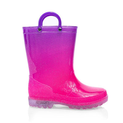 Jellies Sparkle Lights Kids Gumboots