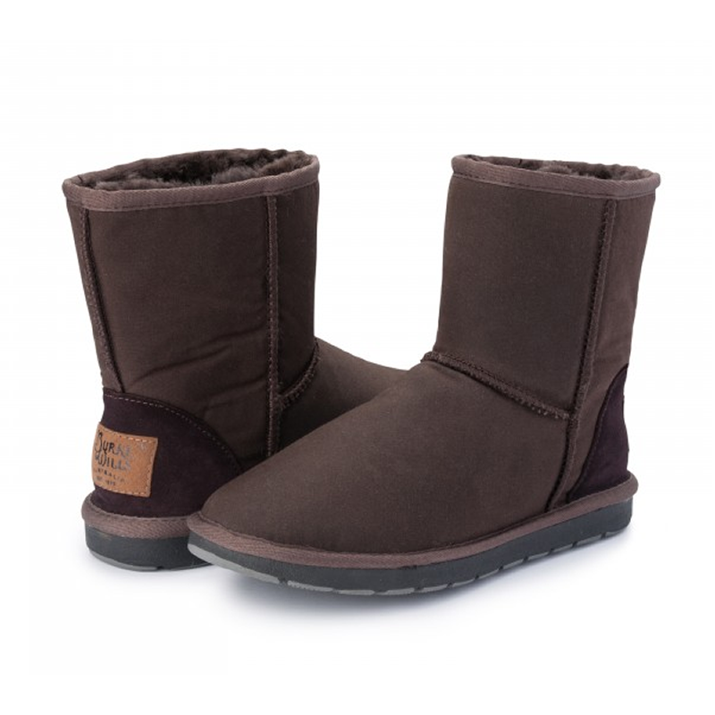 Burke and Wills Woolly Oilskin Ugg Boots