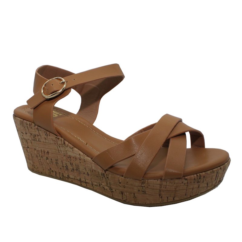 No Shoes Cork Sandal