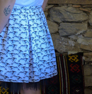 Whales Skirt