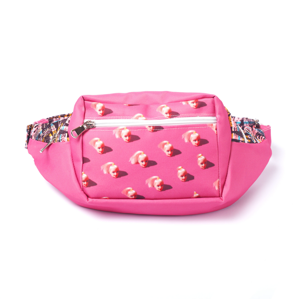 Bag, fanny pack, bum bag, waist bag, belt bag, chest bag, belly bag, wallet, purse, cross bag, women bag, travel bag, barbie, pink