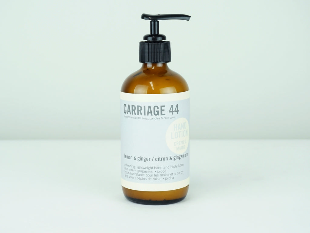 Lemon & Ginger Hand and Body Lotion