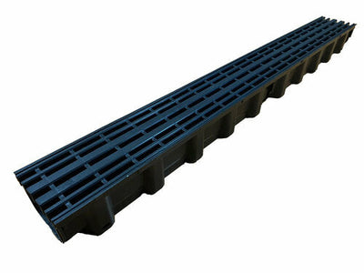 1m Black Drainage Channel