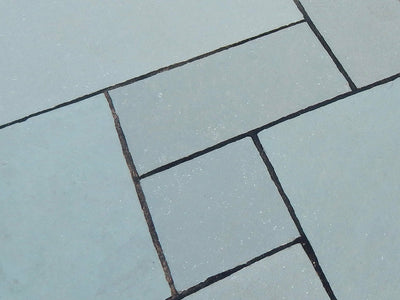 Blue Natural Limestone Patio Paving