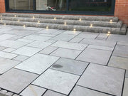 Dove Sawn Edged Limestone Patio Paving