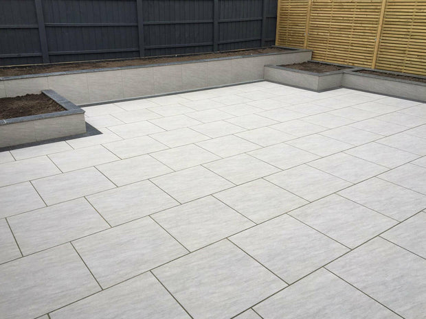 Porcelain Paving Quartz Grey