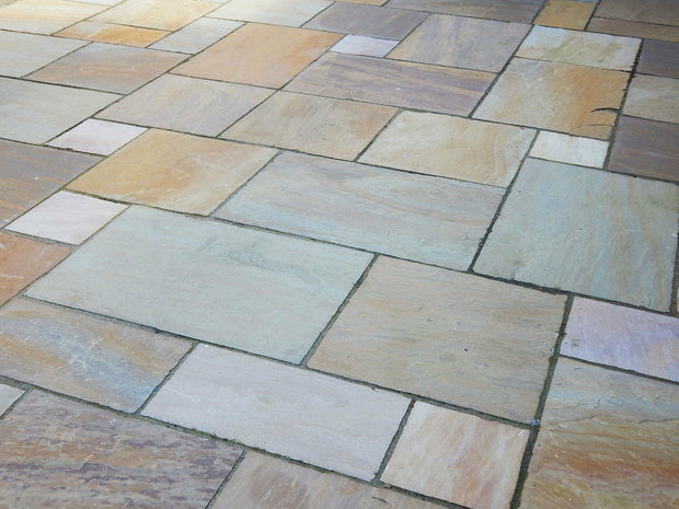 Sienna Natural Sandstone Paving