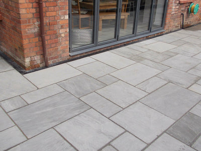 Silver Birch Natural Sandstone Paving