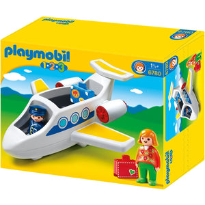 PLAYMOBIL 123 PLANE WITH PASSENGER