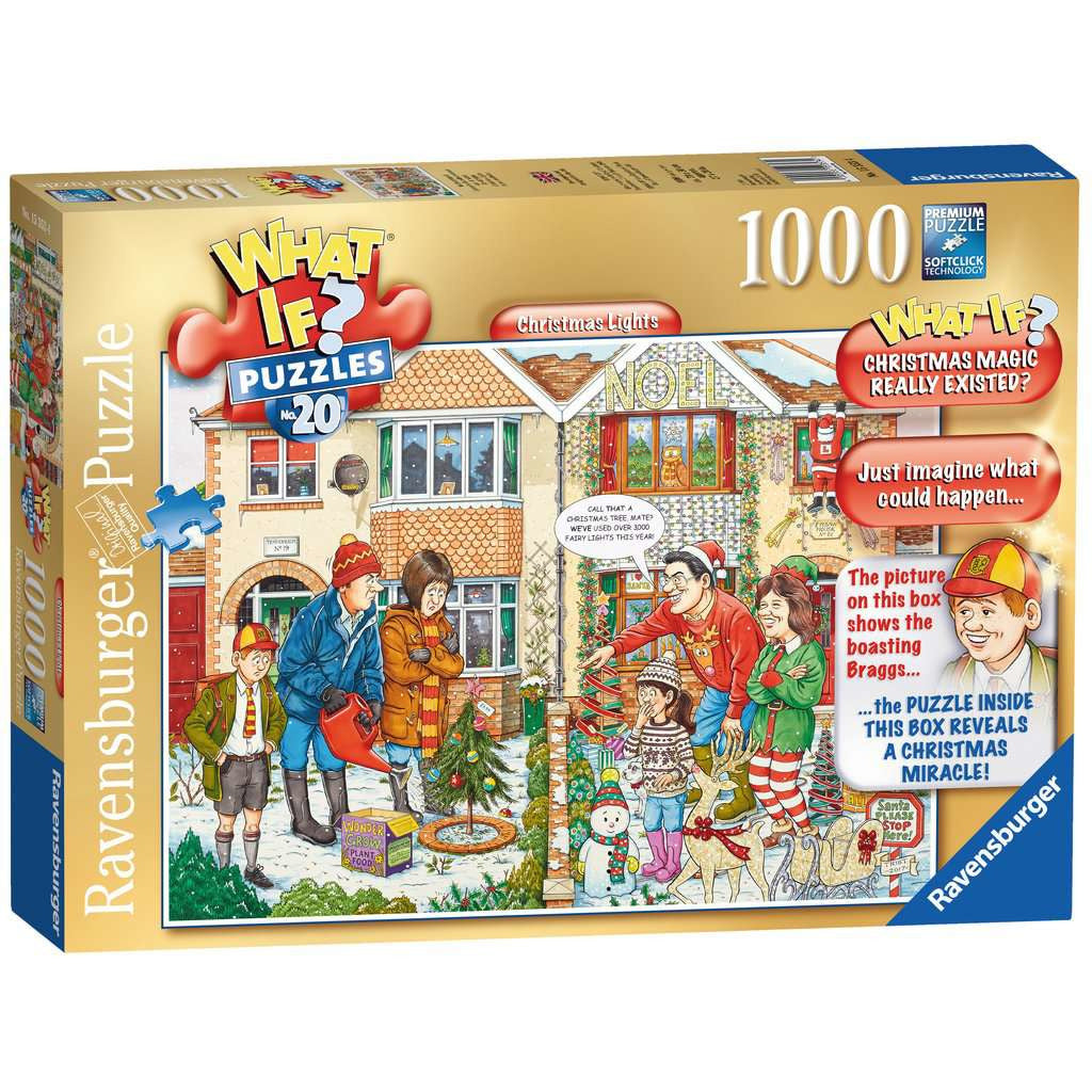 RAVENSBURGER - WHAT IF NO.20- CHRISTMAS LIGHTS 1000PC