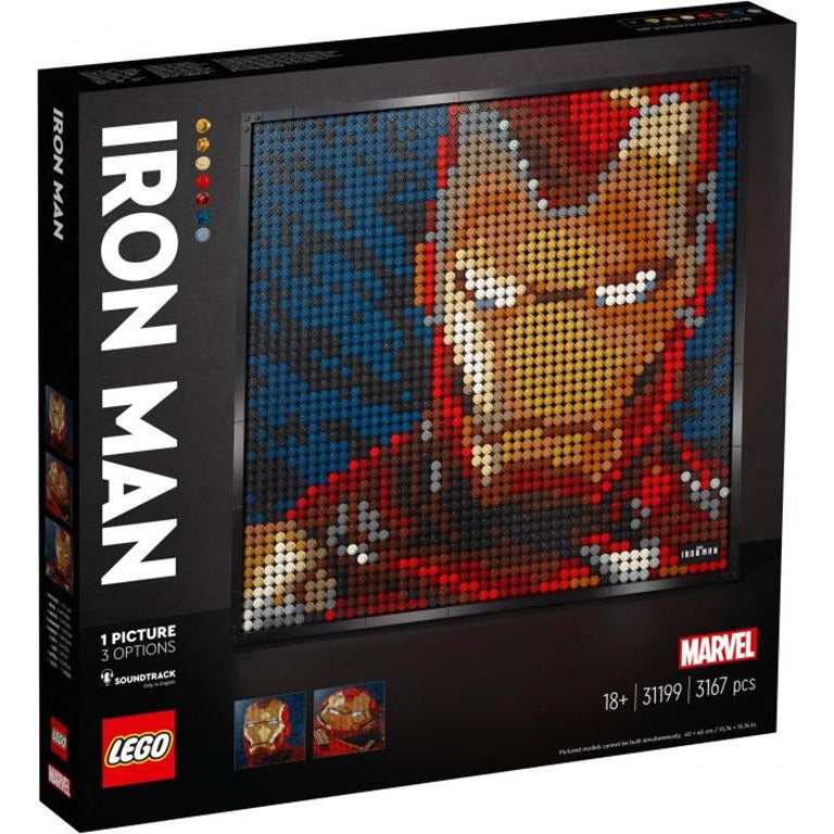 LEGO ART MARVEL STUDIOS IRONMAN