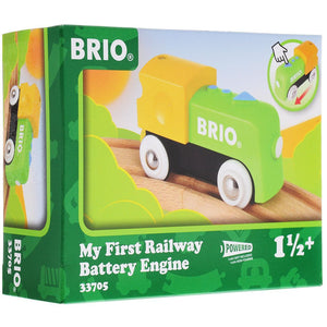 BRIO MY FIRST RAILWAY BATTERY ENGINE