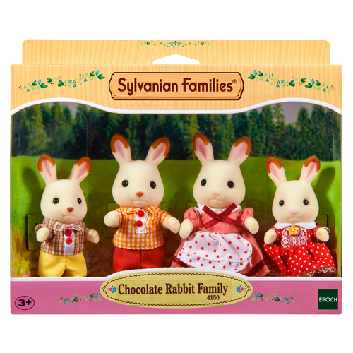 SF CHOCOLATE RABBIT FAMILY