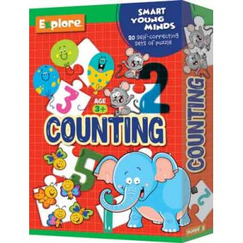 EXPLORE SELF CORRECTING PUZZLE SMALL - COUNTING